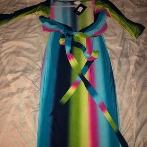 Fashion Nova Dresses - Multi colored dress